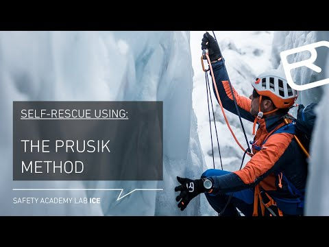 Self-rescue From A Crevasse Using A Prusik & Garda Hitch – Tutorial (17/18) | LAB ICE