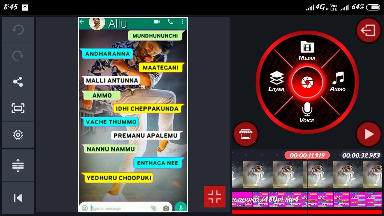 makeWhatsapp chatting style Whatsapp status in Telugu ...
