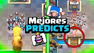 EL MEJOR TOP DE PREDICTS QUE HE HECHO en Clash Royale - WithZack
