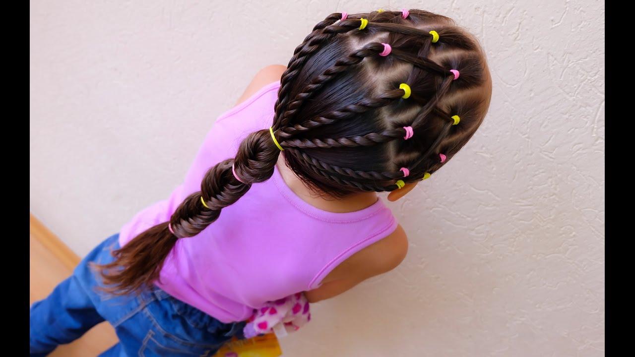 Más cautivador peinados niños Imagen De Tendencias De Color De Pelo - Peinado fácil para niña / Easy hairstyle for girl - YouTube