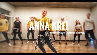 ANNA KREI   SOMEWHERE ELSE - UH HUH   JAZZ FUNK CHOREOGRAPHY   WORKSHOP   BEGINNERS   #7DANCE