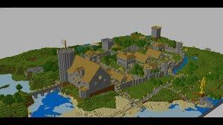 как быстро найти деревню в майнкрафт