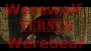 Werewolf Vs. Werebear! Skyrim: Dragonborn DLC Werebear Quest (Walkthrough Commentary)