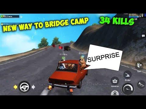 My New Bridge Camp Skills Shocked Everyone, 34 Squad Kills | Pubg Mobile Conqueror Gameplay