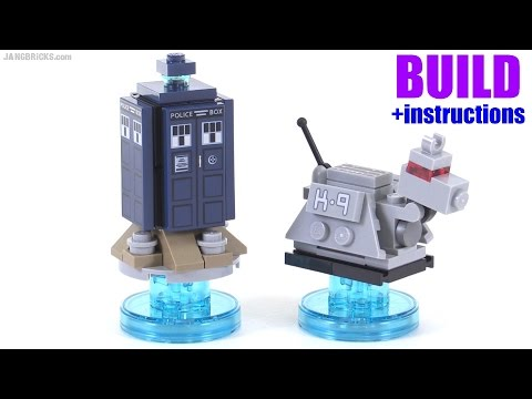 Build With Me Lego Dimensions Doctor Who Tardis K 9 Youtube