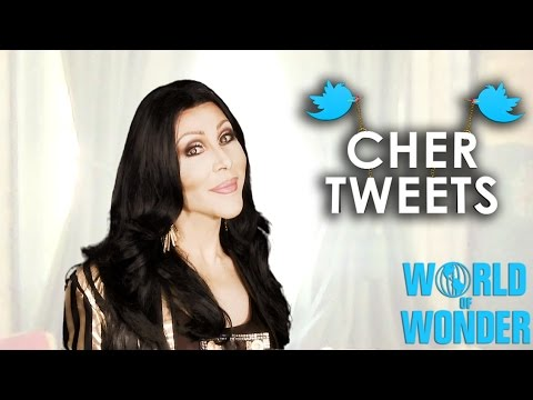 Cher Tweets with Chad Michaels  Cher Impersonators