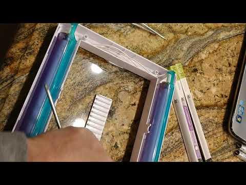 How to change bulbs on Jerdon Trifold Makeup Mirror. JGL9W