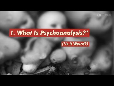Psychoanalysis is Weird!