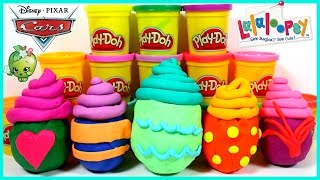 Surprise Toys Play Doh Cupcakes Cake Shopkins Lalaloopsy Avengers  Disney Cars