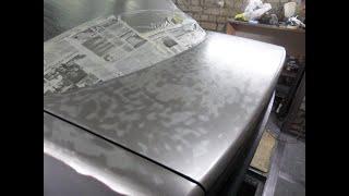 Ауди 100 С4 ремонт кузова. Качественная подготовка кузова к покраске. Как снять краску. Часть 6
