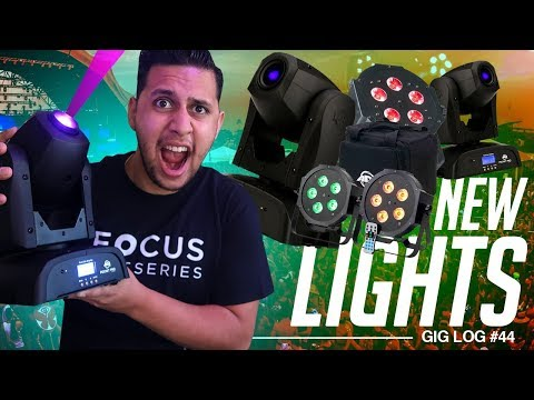 DJ GIG LOG: NEW Mobile DJ Lights in Action! | ADJ Pocket Pro & Mega 64 Hex Pak
