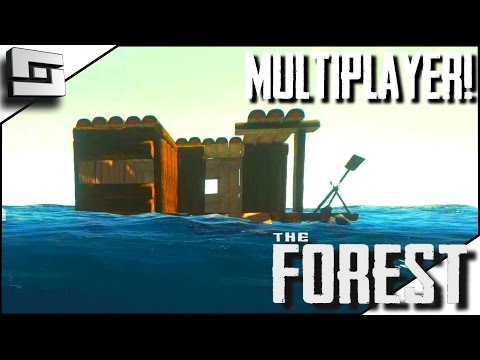 The Forest Multiplayer - HOUSEBOAT! E34 ( Gameplay )