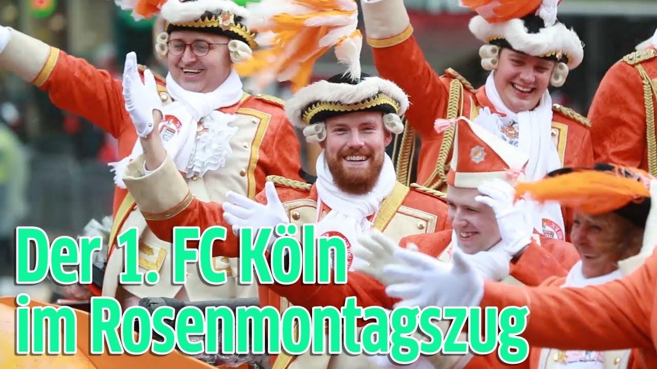 Start Rosenmontagszug Köln