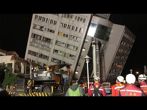 Eastern Taiwan hit by 6.4-Magnitude quake; CEO wants lady-friendly Doritos for women - 02/07/2018
