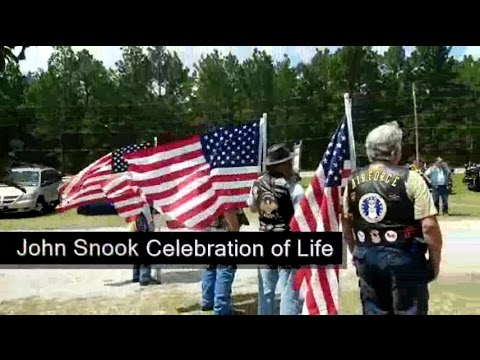 8-28-16 JOHN SNOOK CELEBRATION OF LIFE & MEMORIAL