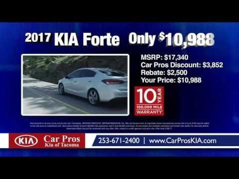 Car Pros Tacoma >> 2017 Kia Forte Only 10 988 Car Pros Kia Tacoma Youtube