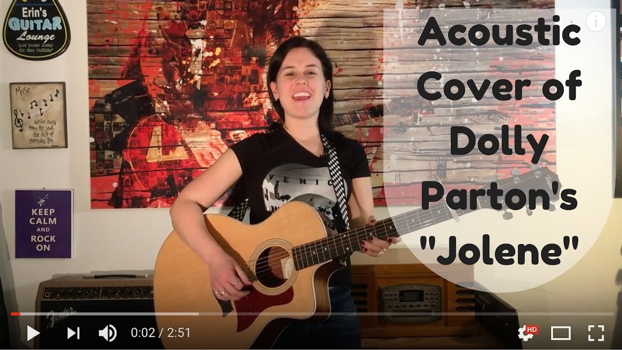 dolly parton jolene cover by erin mcandrew youtube