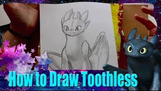 How to Draw TOOTHLESS from Dreamwork