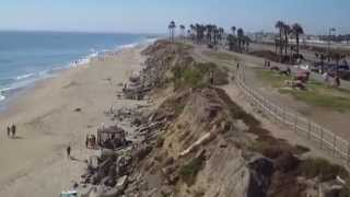 Ocean SOARING Over HB Calif with Onboard Aerial HD Video!  Art-Tech D2500 RC Sailplane!