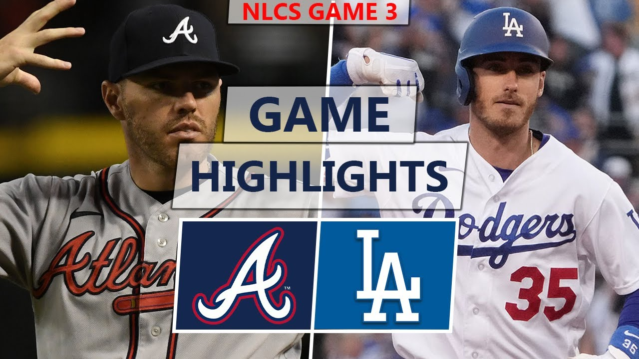 Atlanta Braves vs. Los Angeles Dodgers Highlights | NLCS Game 3 (2021)