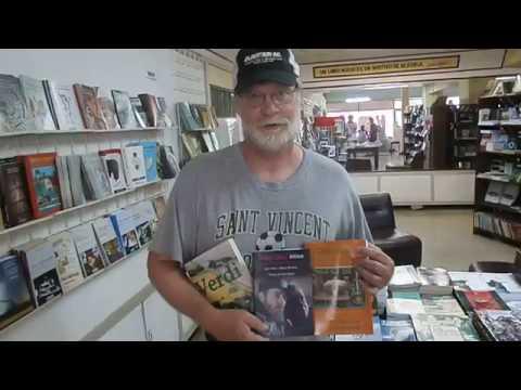 Verdi at a Bookstore in Santiago de Cuba, Cuba