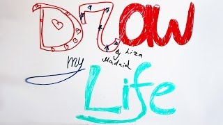 DRAW MY LIFE//Все прелести и горести моей жизни