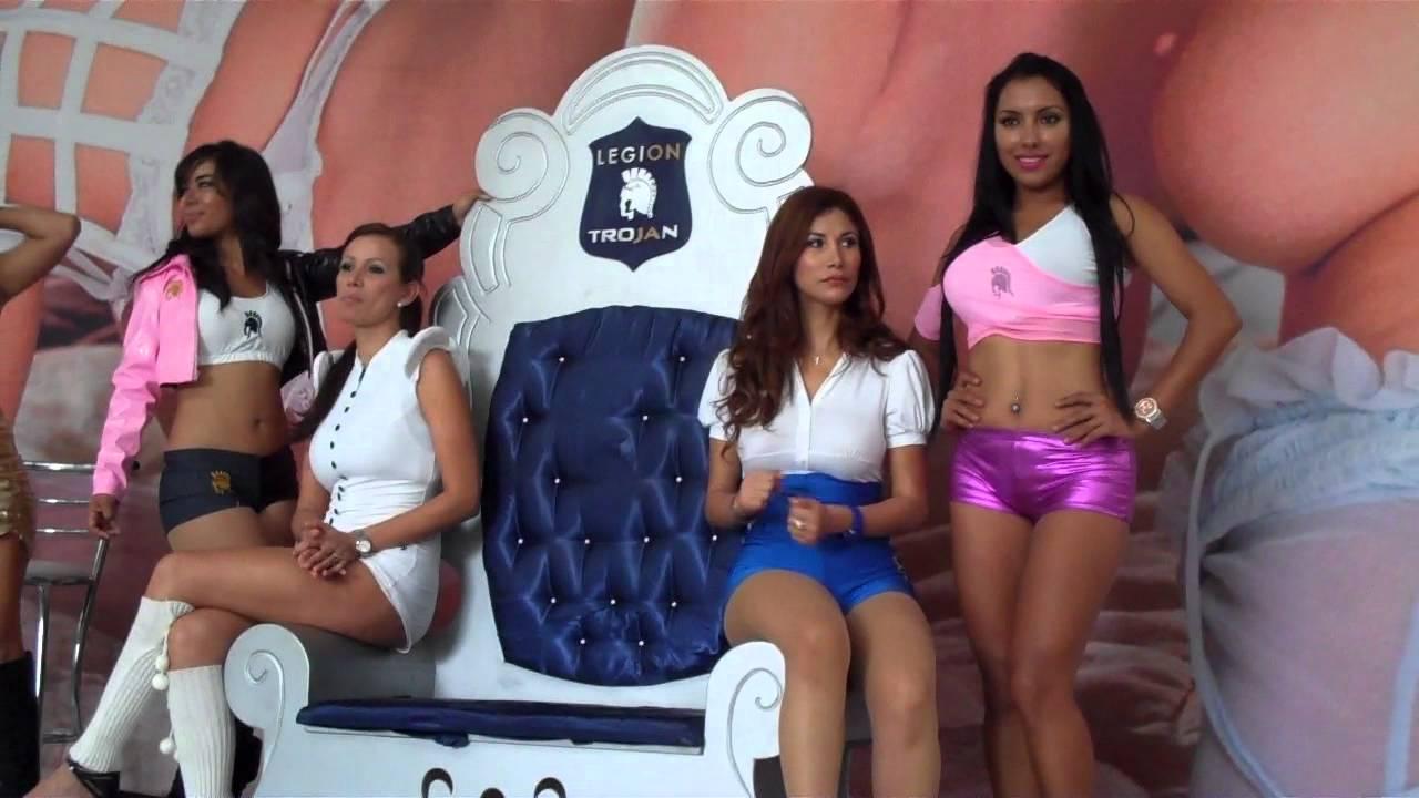 Edecanes Trojan En Expo Sex Guadalajara 2012