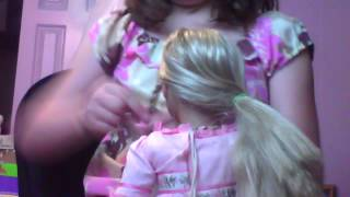 4 in 1 braided hairstyle for american girl dolls Thumbnail