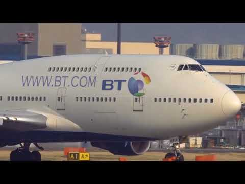 British Telecom new Boeing 747