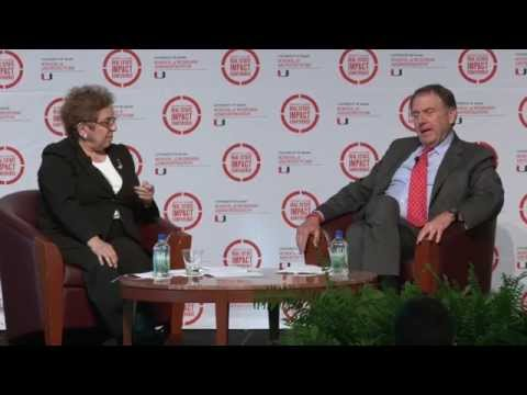 Real Estate Impact Conference 2015 Keynote: Richard LeFrak and Donna Shalala