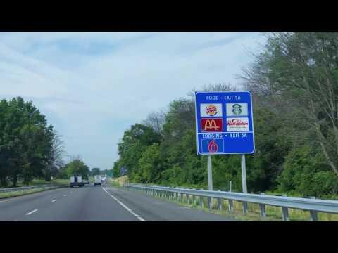 Driving North On Interstate 81 Thru Maryland  & West Virginia