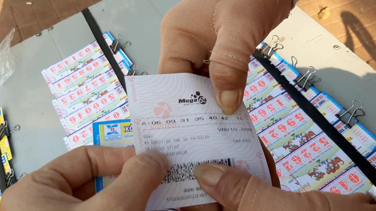 Cách dò vé số Vietlott - hướng dẫn cách chơi vé số kiểu Mỹ Vietlott 6/45 đơn giản- 53 tỷ đó bà con??