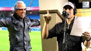Akshay kumar changes his voice for rajini's 2.0 | lehrentv