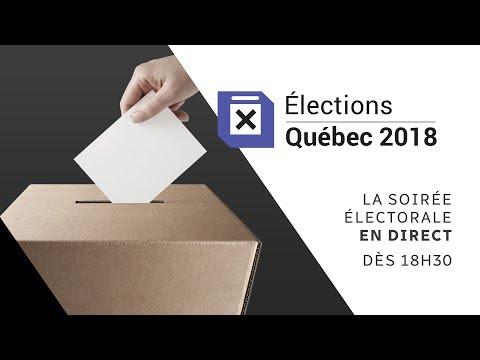 Soirée électorale au Québec