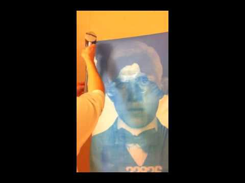 Artist Jeremy Penn: William Murphy Sun Print Process Video