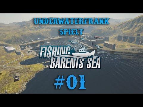Fishing Barents Sea - Alpha Version - #01 Männer der See auf Fang in Norwegen   German   Gameplay