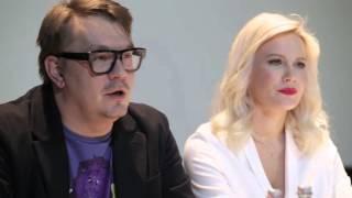 Пресс-конференция Летучая Елена и Николай Картозия о РЕВИЗОРРО