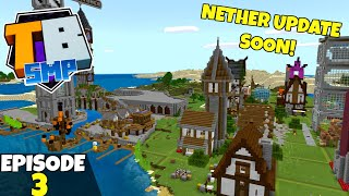 Truly Bedrock S2 Episode 3! Nether Update Coming Soon! Bedrock Edition Survival Let's Play!