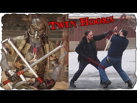 An Outsider's Interpretation Of Chinese Hook Swords