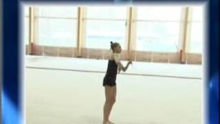 RU | Видео урок 15. Предметный урок с обручем