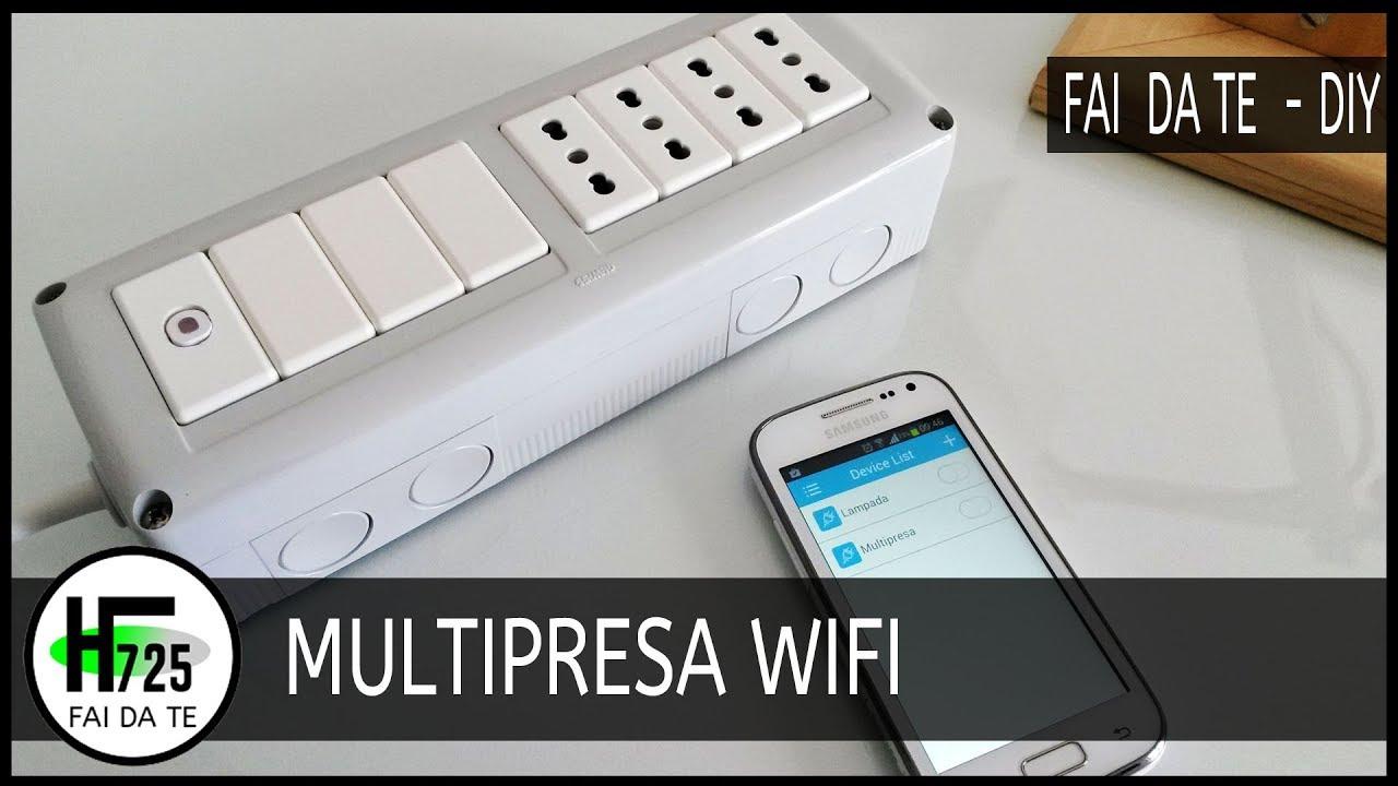 Ponte Wifi Fai Da Te.Multipresa Wifi Con Smart Socket Fai Da Te Tutorial Da
