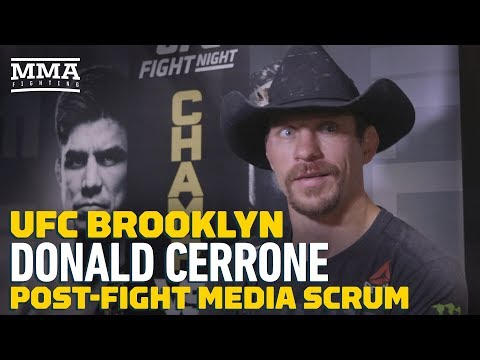 UFC Brooklyn: Donald Cerrone Blasts Alexander Hernandez For Fight Week Trash Talk - MMA Fighting