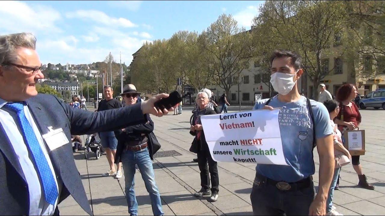 Grundrechte Demo