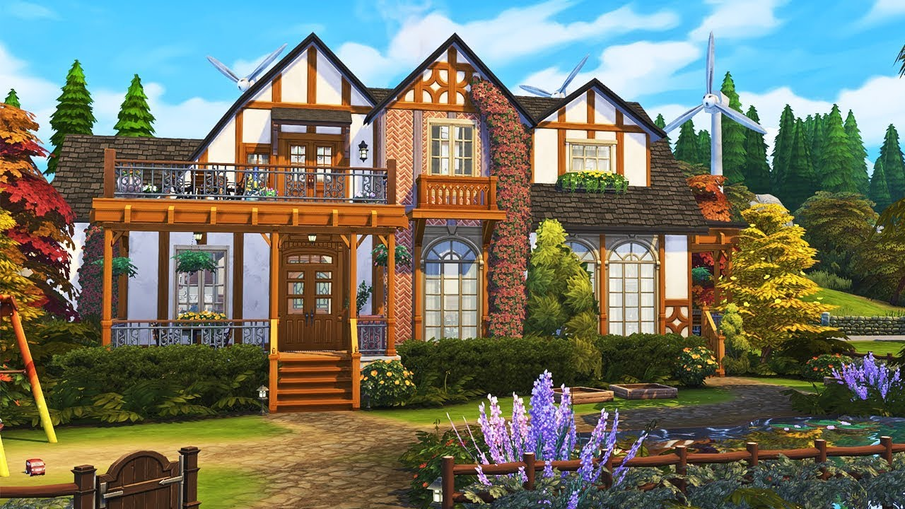 The Munch's Family Home || The Sims 4: Speed Build thumbnail