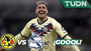 ¡Gol del Ame! Reaparece Nico Castillo | América 1 - 0 Puebla | Liga Mx - AP 19 - J15 | TUDN