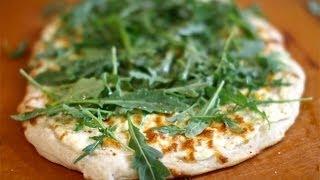 Ricotta & Arugula Pizza