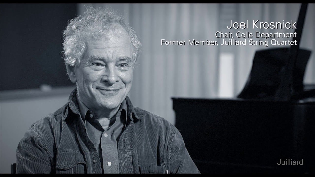 Juilliard Snapshot: Joel Krosnick on the Juilliard String Quartet