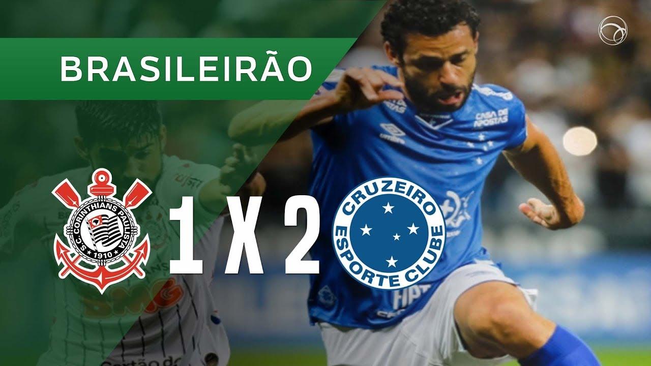 Corinthians 1 X 2 Cruzeiro Gols 1910 Campeonato Brasileiro 2019