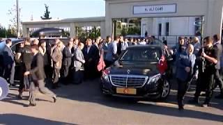 Cumhurbaşkanı Bayram Namazı Sonrası Kısıklı'daki Konutuna Geçti
