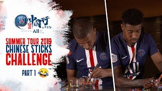 60 SECONDS FOR THE CHINESE STICKS CHALLENGE ! - PART 1